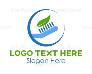 Dentist - Eco Toothpaste logo design