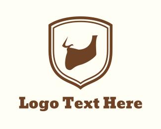 Lumberjack - Beard Emblem logo design