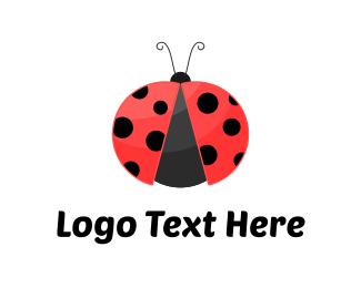Bug - Ladybug logo design