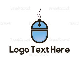 Tray - Online Food logo design