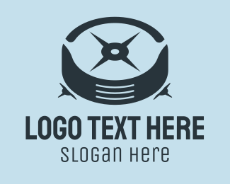 Car Parts - Abstract Car Tire  logo design