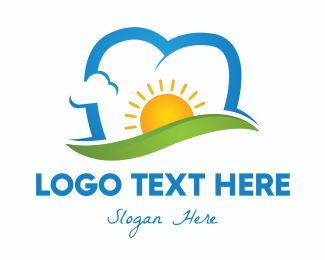 Mouth - Sunny Dental Clinic logo design