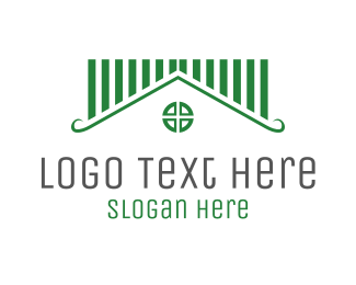 Homewares - Green House logo design