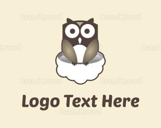 """Owl & Cloud"" by quest80"