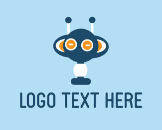 Chatbot - Blue Monster logo design