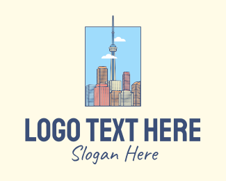 Tourist Attraction - Toronto City Tower logo design