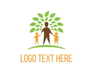 Counseling - Family Tree logo design