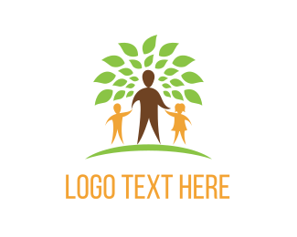 Parent - Family Tree logo design