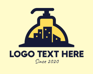 Toiletry - City Building Sanitizer logo design