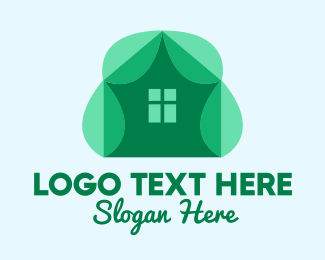 Sustainable Energy - Eco Leaf House  logo design