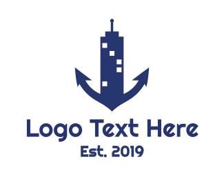 Business Trip - Marine Tower logo design