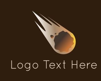 Meteorite Flying Logo