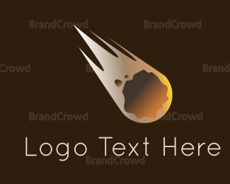 Meteorite - Meteorite Flying logo design