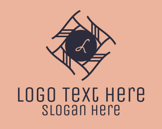 Vintage - Elegant Wreath Lettermark  logo design