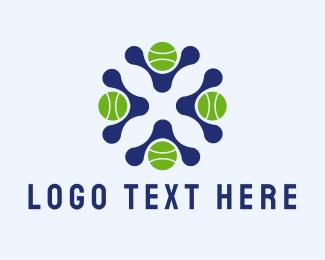 Tennis - Tennis Sports Club logo design