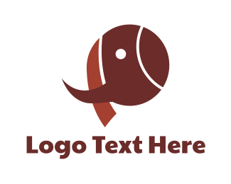 Wilderness - Brown Mammoth logo design