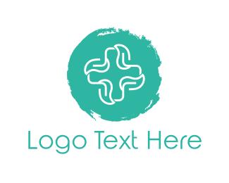Drugstore - Mint Cross logo design