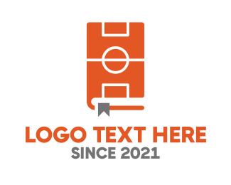 Coaching - Basketball Coach Book logo design
