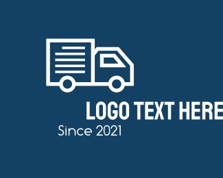 """""""Van Courier Truck"""" by CreativePixels"""
