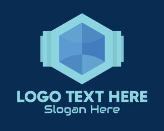 Company - Geometric Tech Company logo design