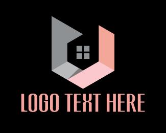 Mortgage - Hexagon House logo design
