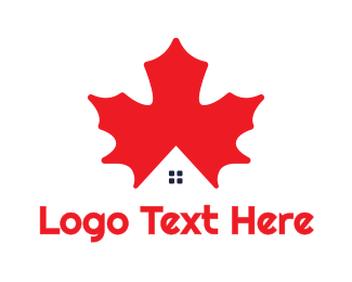 Canadian - Canadian House logo design