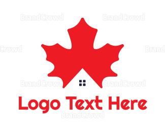 Canadian - Canadian House logo design