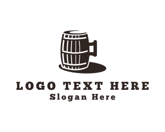 Underground - Beer Barrel logo design