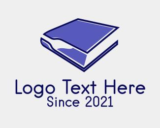 Bar - Book Bar Bottle logo design