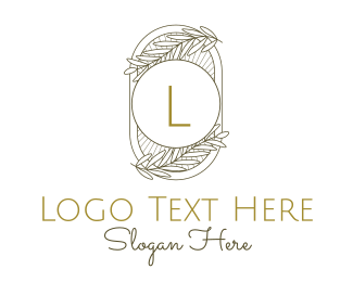 Laurel - Laurel Rays Lettermark logo design