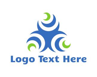 Moon - Moon Triangle logo design