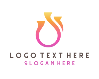 Soul - Abstract Ring logo design