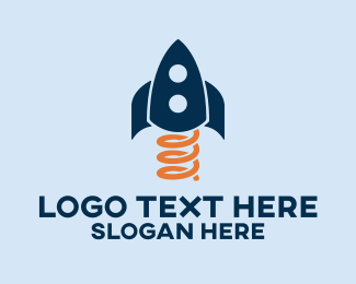 Skyrocket - Spring Rocket logo design