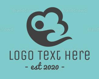 Storage - Cloud Storage logo design