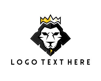 Jewelery - Lion Crown logo design