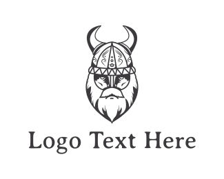 Horn - Old Viking logo design