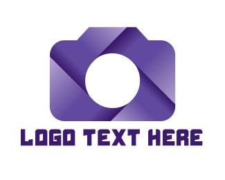 Violet - Violet Shutter Camera logo design
