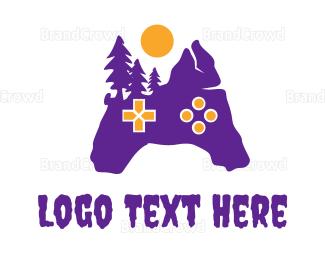 Agile - Purple Creepy Controller logo design
