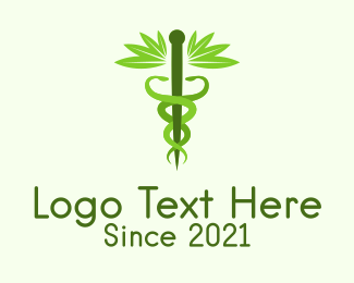 Medical Drug - Medical Organic Hemp logo design