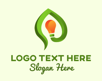 Ecological - Green Idea logo design
