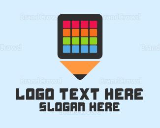Cell - Art  Application logo design