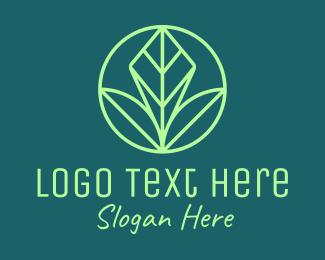 Landscaping - Green Leaf Landscape logo design