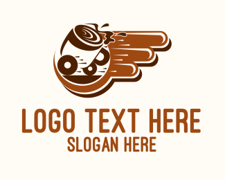 Fast Coffee Delivery Logo