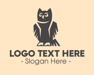Wisdom - Wise Owl logo design