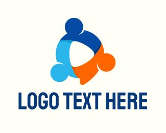People Startup Company Logo