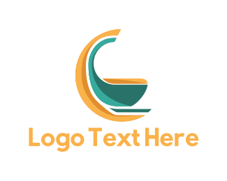 Couch - Rocking Chair logo design