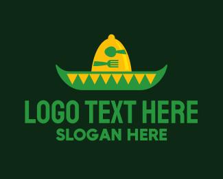 Diner - Mexican Restaurant Sombrero logo design