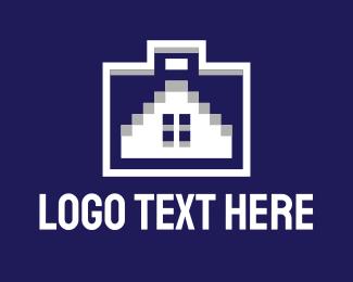 Briefcase - House Briefcase logo design