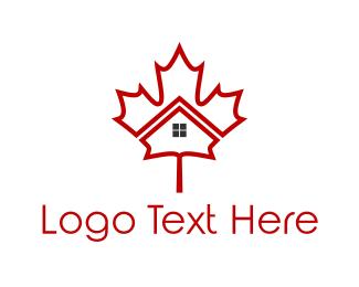 Maple - Maple House logo design