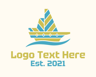 Tribal - Tribal Boat logo design